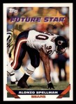 1993 Topps #122  Alonzo Spellman  Front Thumbnail