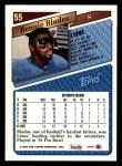 1993 Topps #55  Bennie Blades  Back Thumbnail