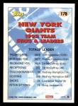 1993 Topps #179   -  Rodney Hampton Giants Leaders Back Thumbnail