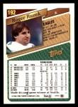 1993 Topps #192  Roger Ruzek  Back Thumbnail