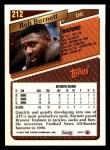 1993 Topps #212  Rob Burnett  Back Thumbnail