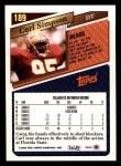 1993 Topps #189  Carl Simpson  Back Thumbnail