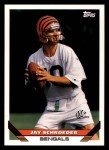 1993 Topps #411  Jay Schroeder  Front Thumbnail