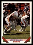 1993 Topps #433  Joe Phillips  Front Thumbnail