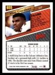 1993 Topps #655  Moe Gardner  Back Thumbnail