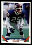 1993 Topps #472  Mark Collins  Front Thumbnail