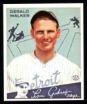 1934 Goudey Reprint #26  Gerald Walker  Front Thumbnail