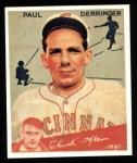 1934 Goudey Reprint #84  Paul Derringer  Front Thumbnail
