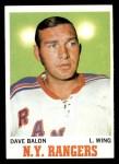 1970 Topps #61  Dave Balon  Front Thumbnail