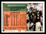 1994 Topps #107  Vaughan Johnson  Back Thumbnail