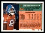 1994 Topps #70  Shannon Sharpe  Back Thumbnail