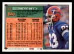 1994 Topps #183  Andre Reed  Back Thumbnail