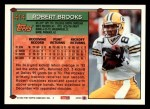1994 Topps #414  Robert Brooks  Back Thumbnail
