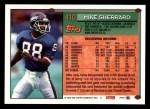 1994 Topps #410  Mike Sherrard  Back Thumbnail