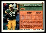 1994 Topps #352  Darrell Thompson  Back Thumbnail