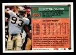1994 Topps #327  Wayne Martin  Back Thumbnail
