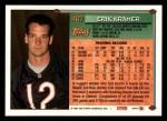 1994 Topps #467  Erik Kramer  Back Thumbnail