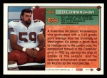 1994 Topps #484  Ed Cunningham  Back Thumbnail