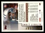 1994 Topps #474  Mel Gray  Back Thumbnail