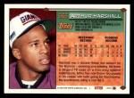 1994 Topps #566  Arthur Marshall  Back Thumbnail