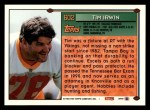 1994 Topps #602  Tim Irwin  Back Thumbnail