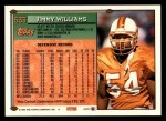 1994 Topps #533  Jimmy Williams  Back Thumbnail