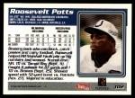 1995 Topps #102  Roosevelt Potts  Back Thumbnail