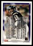 1995 Topps #40  Stan Humphries  Back Thumbnail