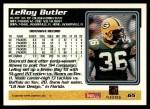 1995 Topps #65  LeRoy Butler  Back Thumbnail