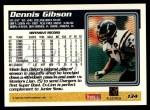 1995 Topps #134  Dennis Gibson  Back Thumbnail