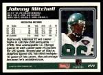 1995 Topps #271  Johnny Mitchell  Back Thumbnail
