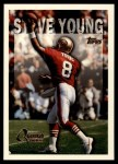 1995 Topps #422  Steve Young  Front Thumbnail