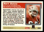 1995 Topps #382  Bart Oates  Back Thumbnail