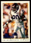 1995 Topps #377  Dewayne Washington  Front Thumbnail