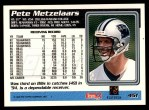 1995 Topps #451  Pete Metzelaars  Back Thumbnail