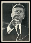 1964 Topps JFK #28   JFK Add. On His Civil Rights St& Front Thumbnail