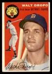 1954 Topps #18 WHT Walt Dropo  Front Thumbnail