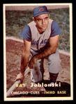 1957 Topps #218  Ray Jablonski  Front Thumbnail