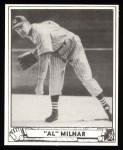 1940 Play Ball Reprint #202  Al Milnar  Front Thumbnail