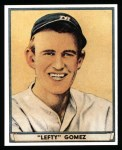 1941 Play Ball Reprint #72  Lefty Gomez  Front Thumbnail