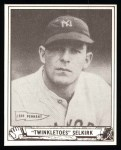 1940 Play Ball Reprint #8  George Selkirk  Front Thumbnail