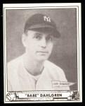 1940 Play Ball Reprint #3  Babe Dahlgren  Front Thumbnail