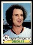1979 Topps #119  Don Stanhouse  Front Thumbnail