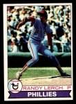 1979 Topps #52  Randy Lerch  Front Thumbnail