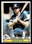 1979 Topps #410  Darrell Evans  Front Thumbnail