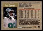1996 Topps #204  Fred Barnett  Back Thumbnail