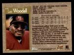 1996 Topps #209  Lee Woodall  Back Thumbnail