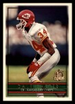 1996 Topps #34  Dale Carter  Front Thumbnail