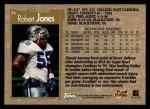 1996 Topps #36  Robert Jones  Back Thumbnail