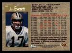 1996 Topps #310  Jim Everett  Back Thumbnail